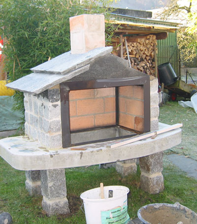 Gm r 39 s steig rtli ueber uns chemineebau 2007 for Grill cheminee selber bauen